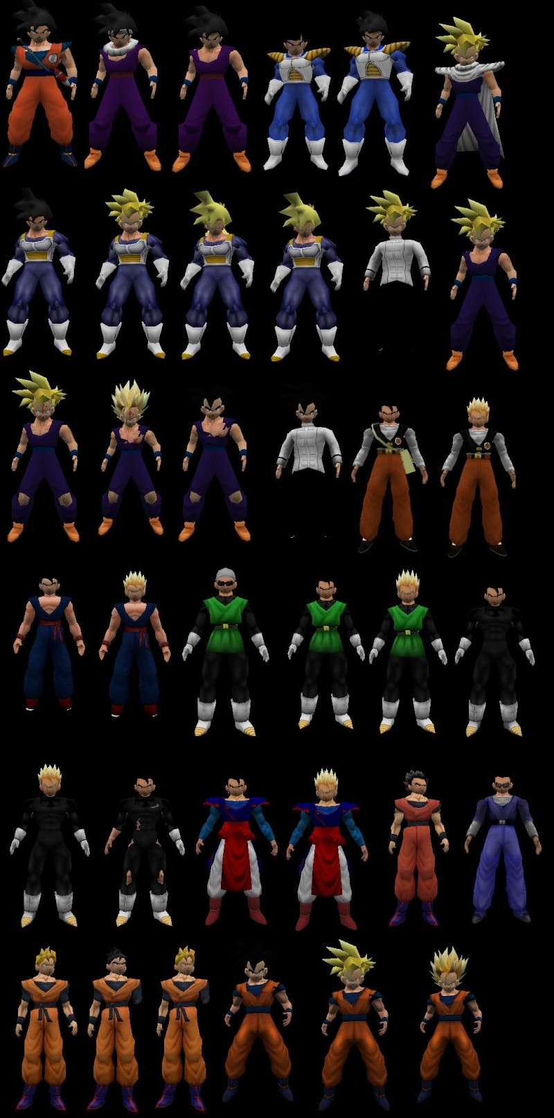 [Models Sin Amxx] Pack Gohan all sagas By Computrix_esf All_sa10