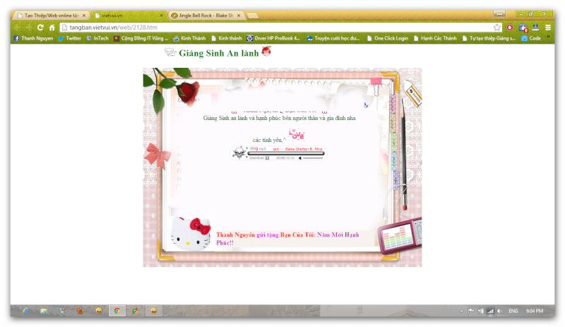 Tạo Thiệp chúc mừng online với Tangban.vietvui.vn Ashamp24