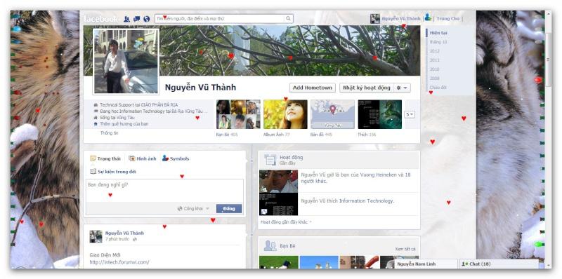 Facebook: Trang Trí Profile bằng ứng dụng Social Extras Ashamp33