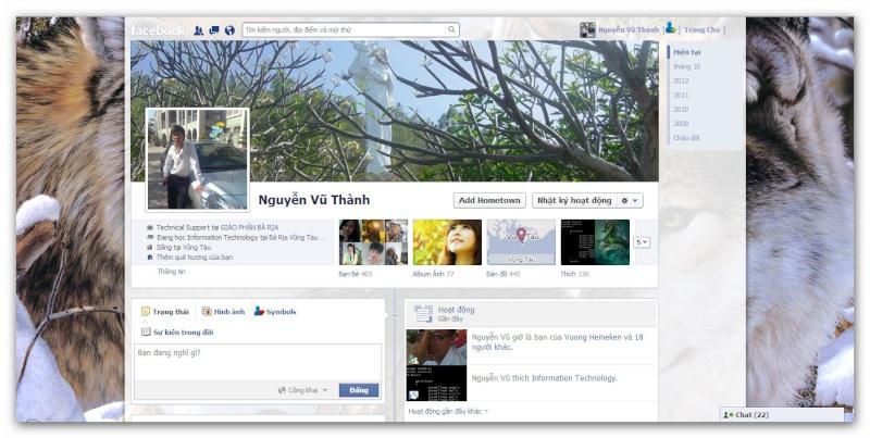 Facebook: Trang Trí Profile bằng ứng dụng Social Extras Ashamp36