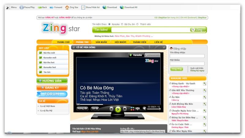 Zing Karaoke Offline bản Beta. Ashamp74