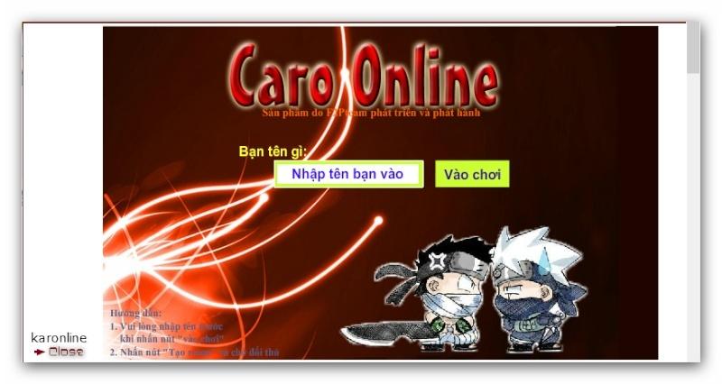 Bổ Sung Game Caro Online Ashamp87