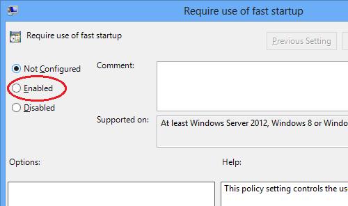 trên - Vô hiệu tùy chọn Fast Startup trên Windows 8 Lampq-11