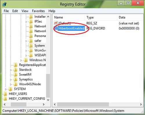trên - Vô hiệu tùy chọn Fast Startup trên Windows 8 Lampq-12