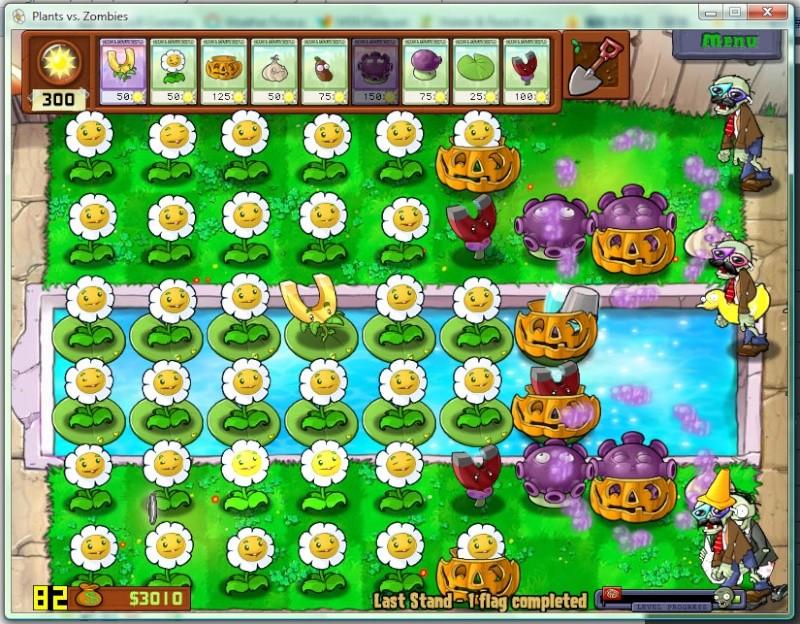 Plant vs Zombies Crack và Hack Plants10