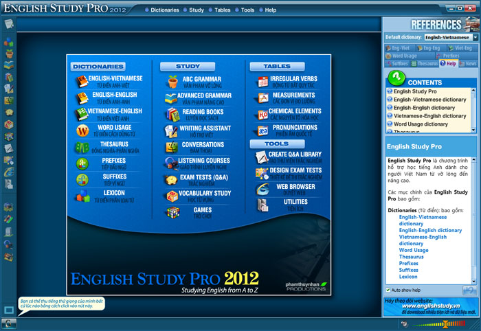 English Study Pro 2012 Full Key Sinhvi10