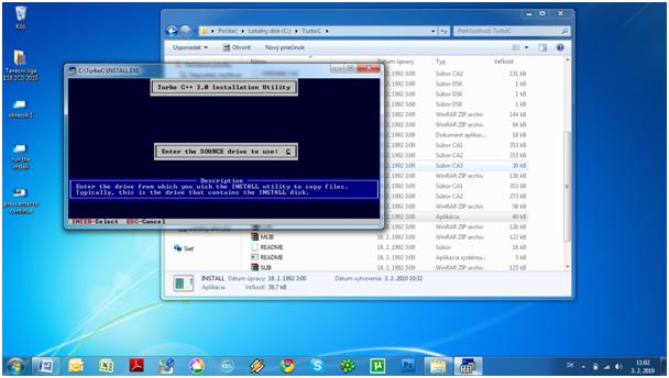 Hướng Dẫn Cài Đặt Tubor C++ trên Win7 32bit Step410