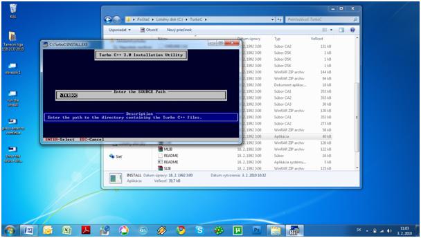 Hướng Dẫn Cài Đặt Tubor C++ trên Win7 32bit Step510