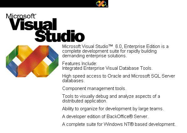 Visual Studio 98 (VS 6.0) Visual10