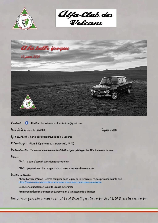 Alfa Club des volcans - A la Belle Epoque 0-prog10
