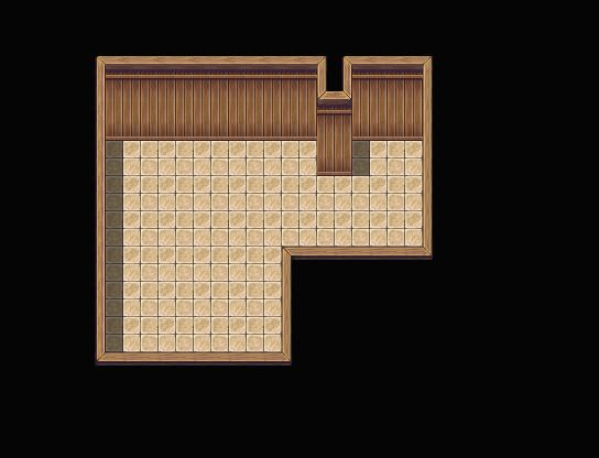 Petite maison simple mais fonctionnelle (intérieur) Tuto0210