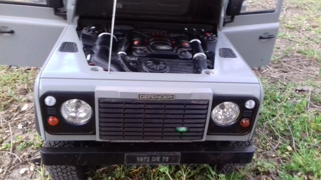 Land Rover Defender 130 - 6x6 truck Bed spécial véhicule  20190644