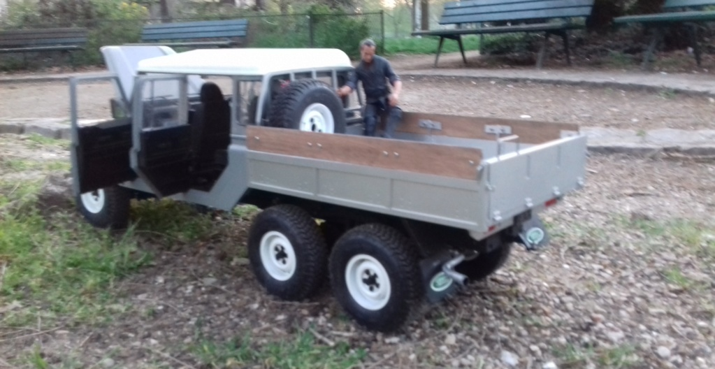 Land Rover Defender 130 - 6x6 truck Bed spécial véhicule  20190646