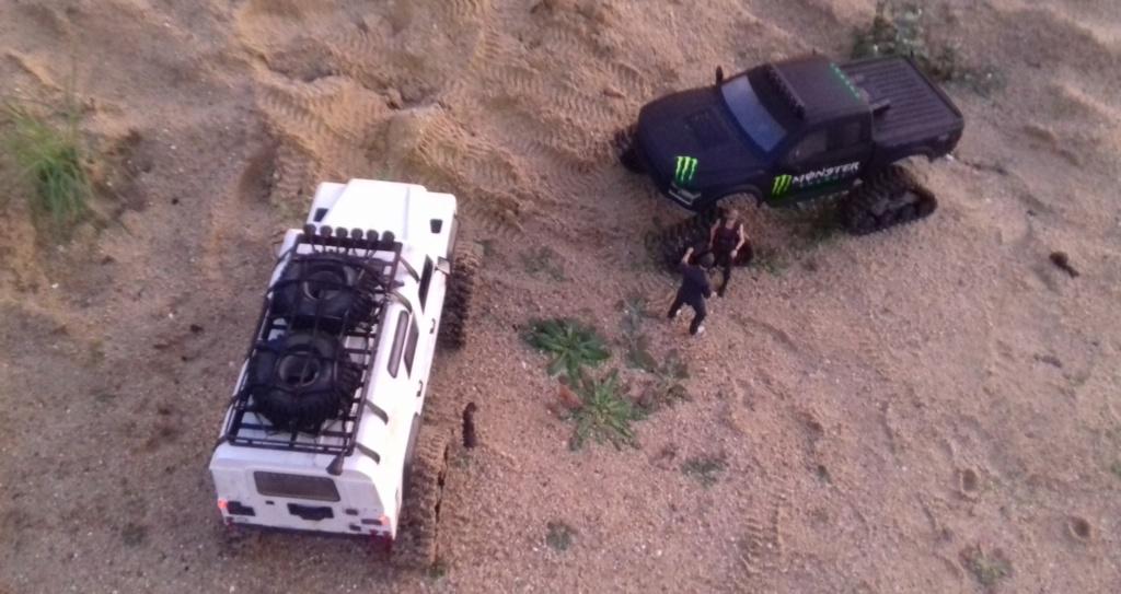 Land Rover Defender 110 SW - Spécial Véhicles Chenilles 20191892