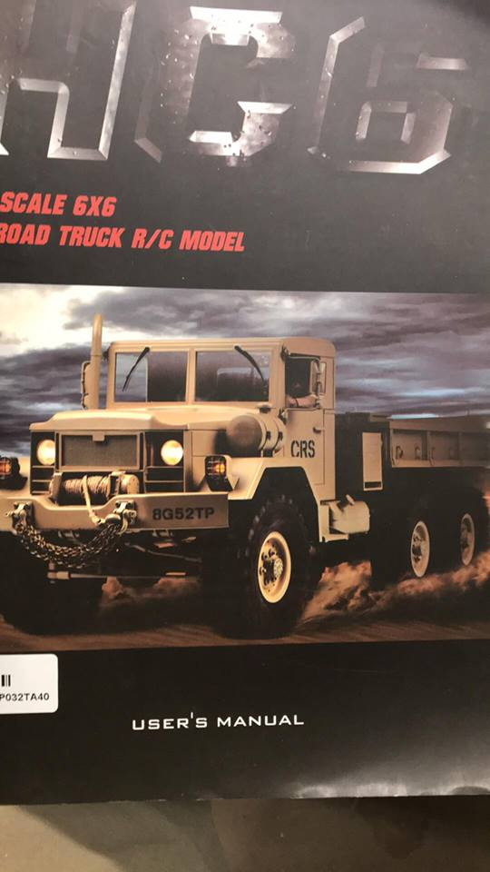 Cross Rc HC6 Old School Truck Custom 1970 45893010