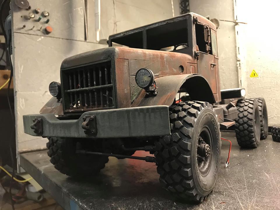 Cross Rc HC6 Old School Truck Custom 1970 47573210