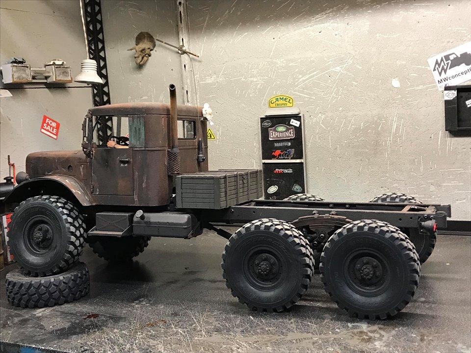 Cross Rc HC6 Old School Truck Custom 1970 47580110