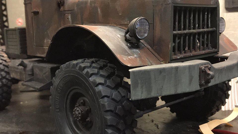 Cross Rc HC6 Old School Truck Custom 1970 47683510