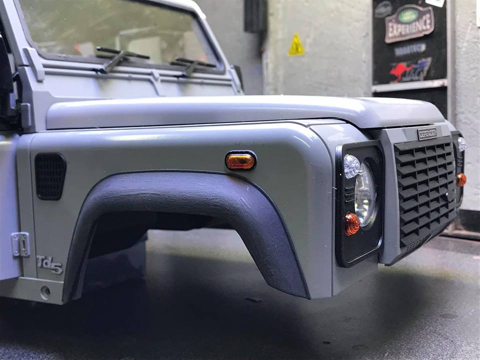 Land Rover Defender 130 - 6x6 truck Bed spécial véhicule  49855610