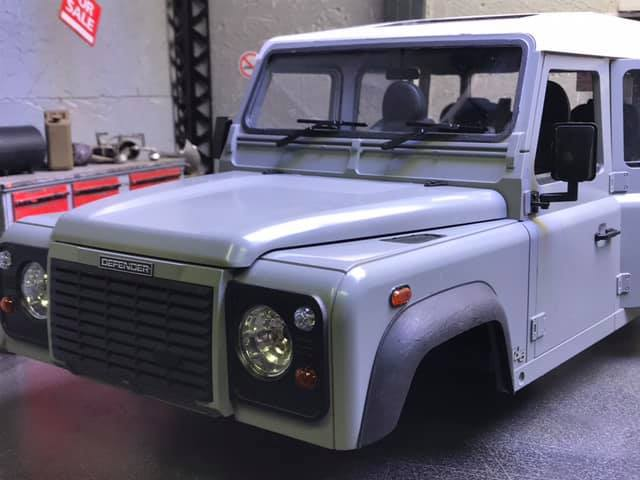 Land Rover Defender 130 - 6x6 truck Bed spécial véhicule  50014510