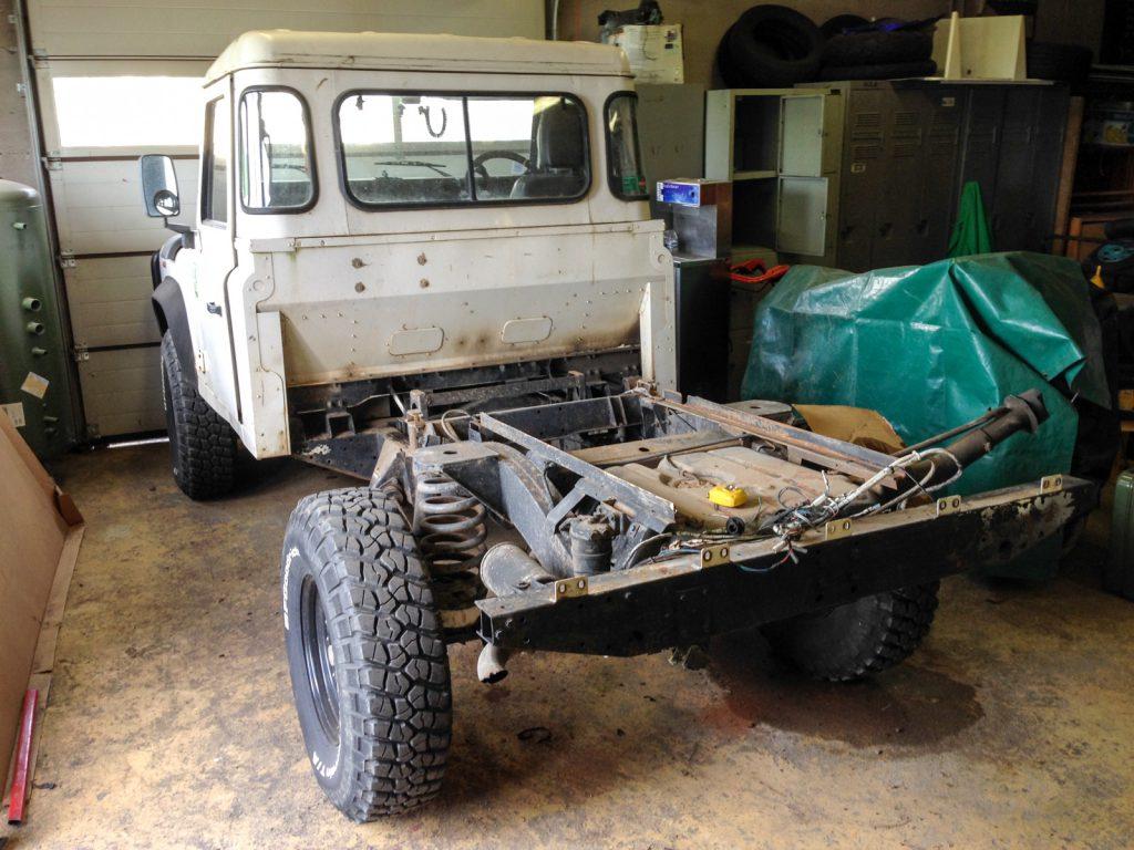 Land Rover Defender 110 Modifier Class 2 Defend17