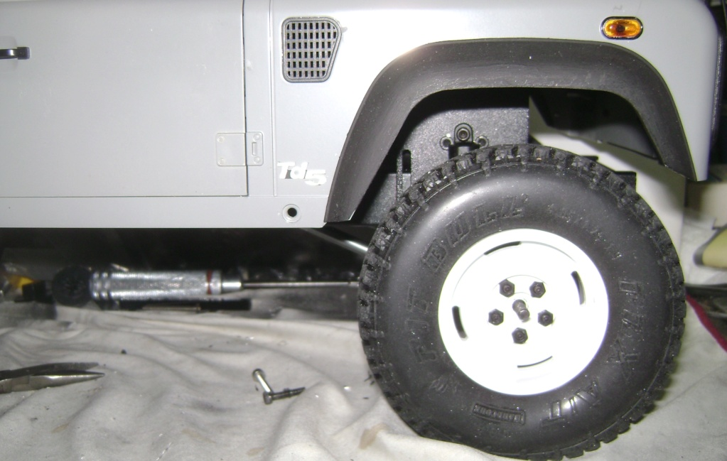 Land Rover Defender 130 - 6x6 truck Bed spécial véhicule - Class 1. Dsc00782