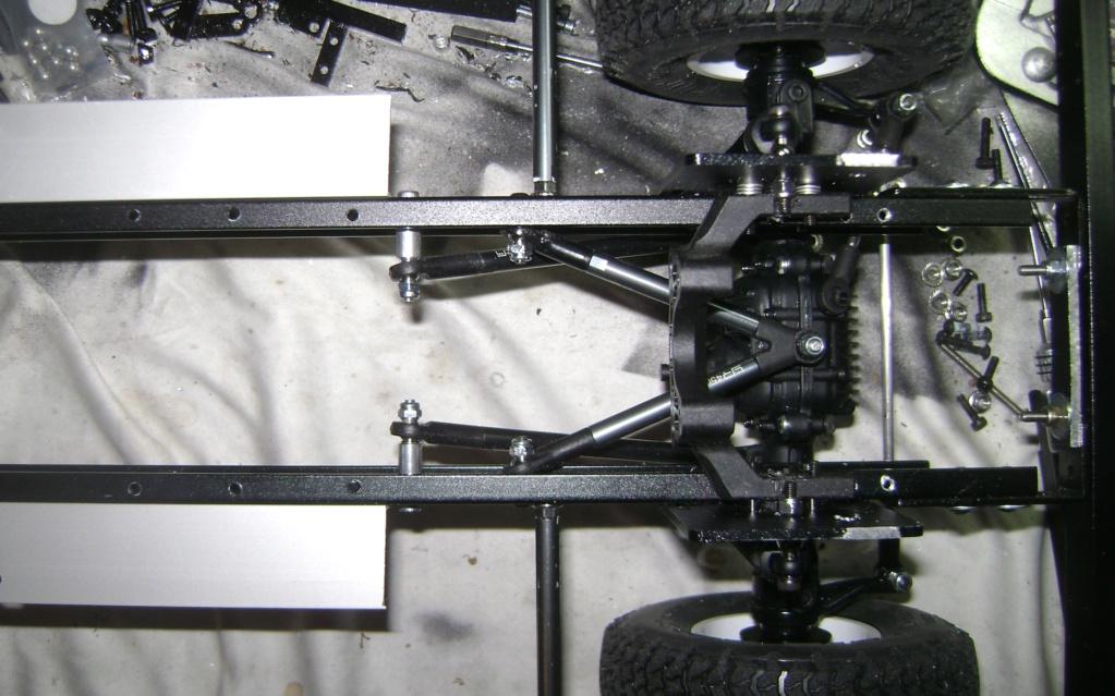 Land Rover Defender 130 - 6x6 truck Bed spécial véhicule - Class 1. Dsc00791