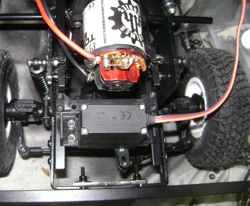 Land Rover Defender 130 - 6x6 truck Bed spécial véhicule  Dsc00836