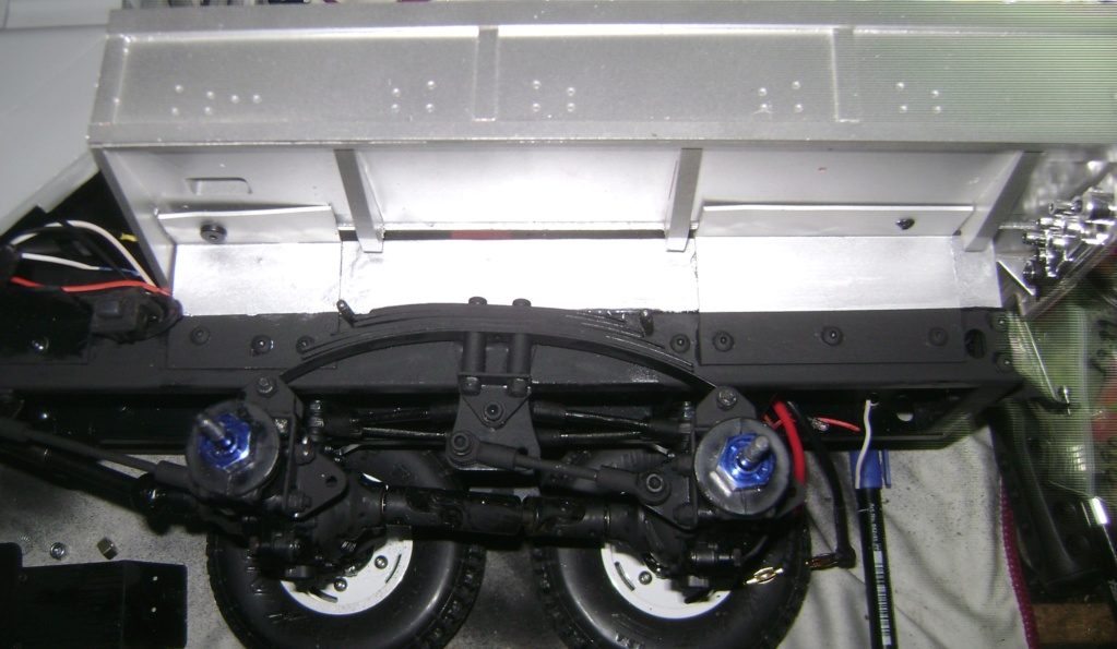 Land Rover Defender 130 - 6x6 truck Bed spécial véhicule  Dsc00853