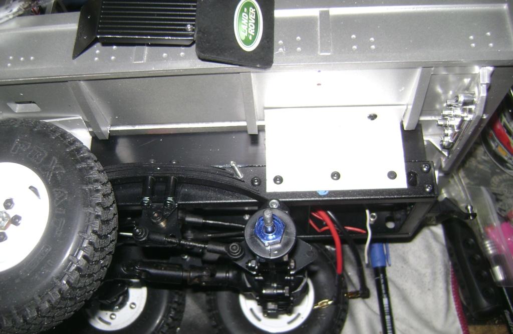 Land Rover Defender 130 - 6x6 truck Bed spécial véhicule - Class 1. Dsc00855
