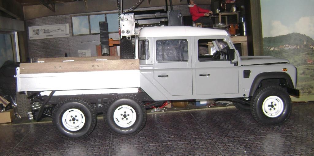 Land Rover Defender 130 - 6x6 truck Bed spécial véhicule - Class 1. Dsc00870