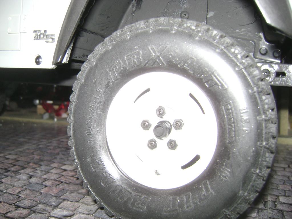 Land Rover Defender 130 - 6x6 truck Bed spécial véhicule  Dsc00872