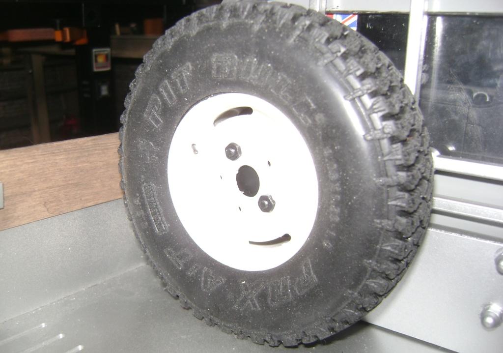 Land Rover Defender 130 - 6x6 truck Bed spécial véhicule  Dsc00873