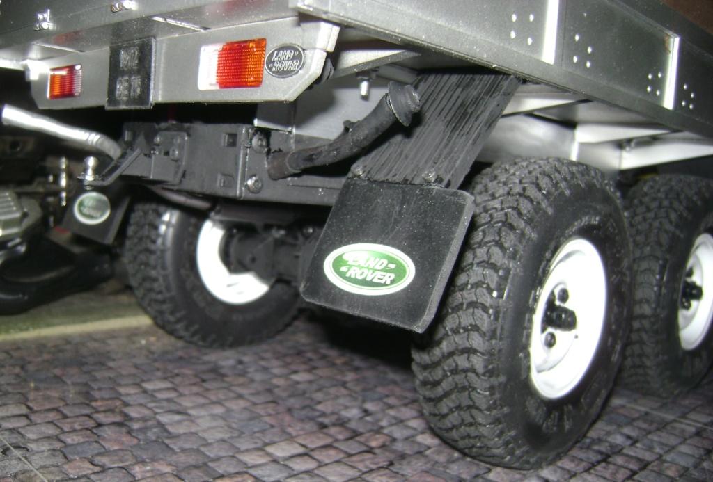 Land Rover Defender 130 - 6x6 truck Bed spécial véhicule - Class 1. Dsc00874