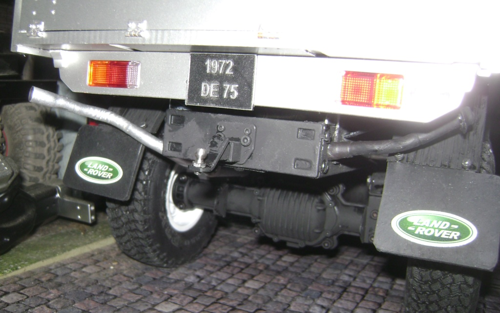 Land Rover Defender 130 - 6x6 truck Bed spécial véhicule - Class 1. Dsc00876