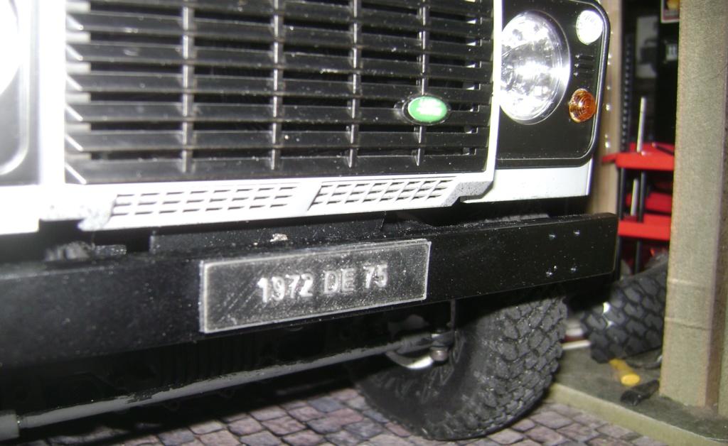 Land Rover Defender 130 - 6x6 truck Bed spécial véhicule - Class 1. Dsc00877