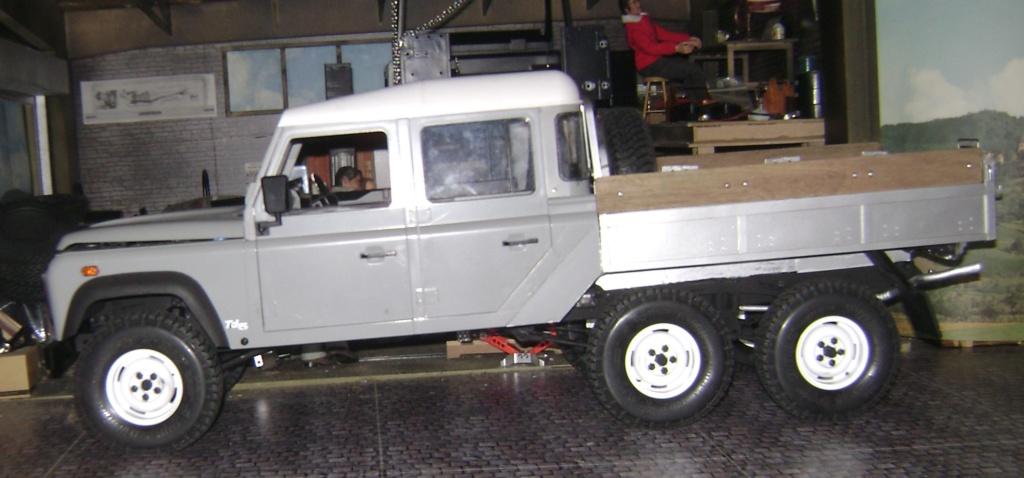 Land Rover Defender 130 - 6x6 truck Bed spécial véhicule - Class 1. Dsc00878