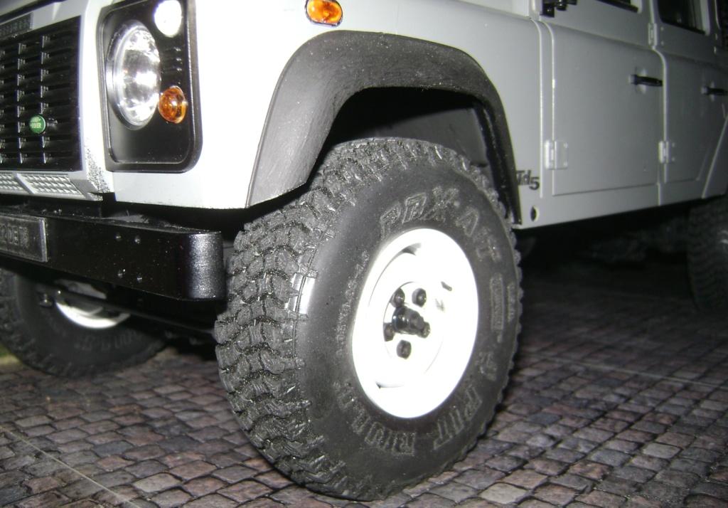 Land Rover Defender 130 - 6x6 truck Bed spécial véhicule  Dsc00880