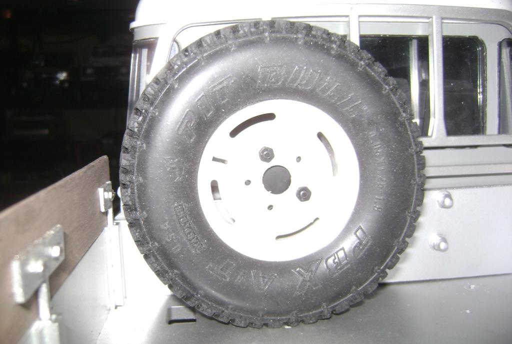 Land Rover Defender 130 - 6x6 truck Bed spécial véhicule - Class 1. Dsc00881