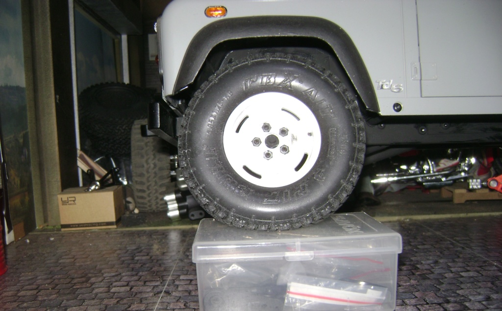 Land Rover Defender 130 - 6x6 truck Bed spécial véhicule - Class 1. Dsc00886