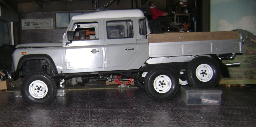 Land Rover Defender 130 - 6x6 truck Bed spécial véhicule  Dsc00887