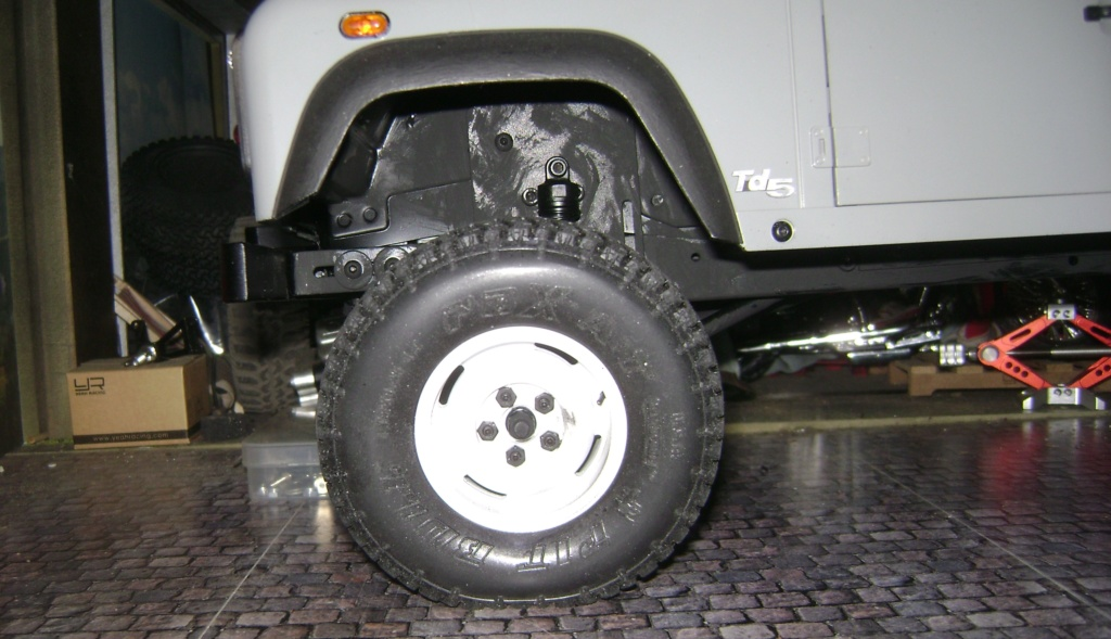 Land Rover Defender 130 - 6x6 truck Bed spécial véhicule  Dsc00888