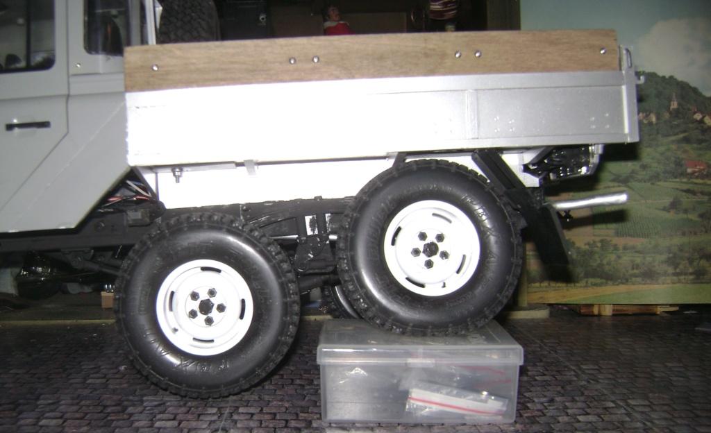 Land Rover Defender 130 - 6x6 truck Bed spécial véhicule - Class 1. Dsc00889