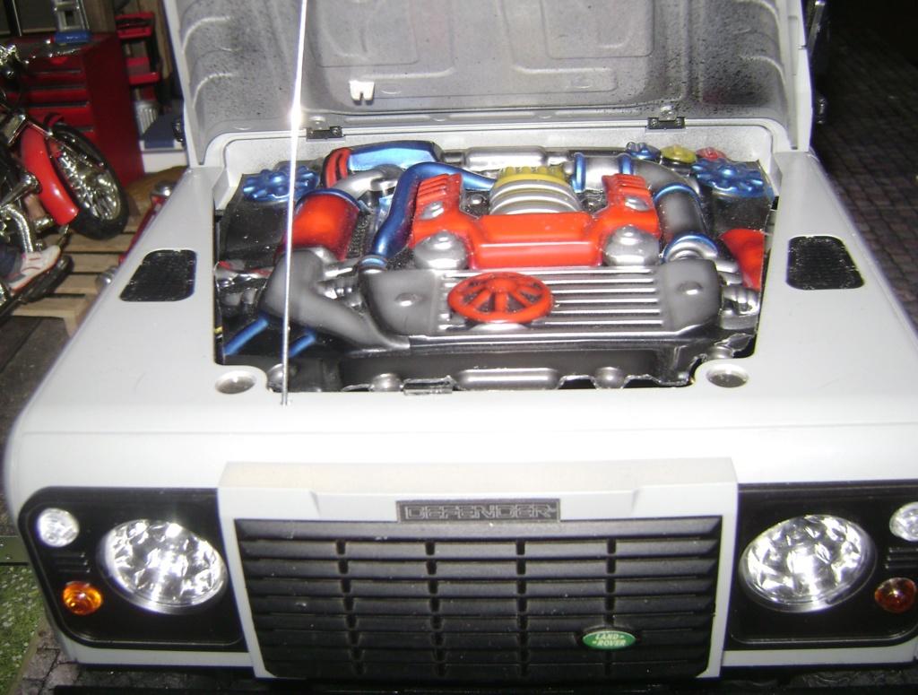 Land Rover Defender 130 - 6x6 truck Bed spécial véhicule - Class 1. Dsc00891