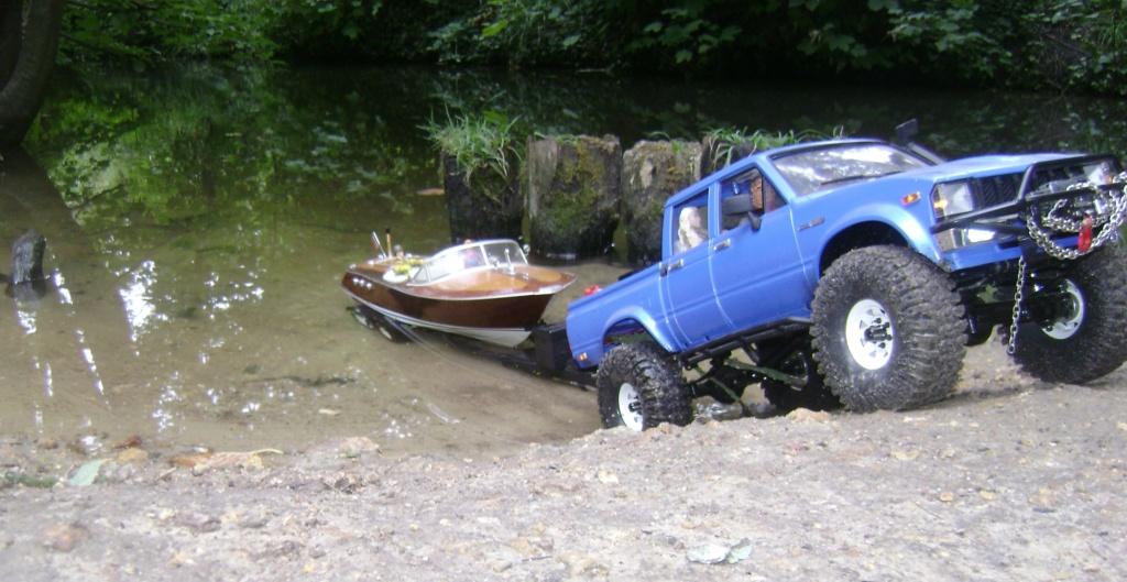 Les Toyota Hilux 2 & 4 portes RC4WD Trail Finder 2 RTR de Trankilou &Trankilette - Page 4 Dsc09343