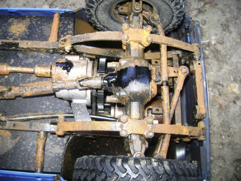 Les Toyota Hilux 2 & 4 portes RC4WD Trail Finder 2 RTR de Trankilou &Trankilette - Page 5 Dsc09536