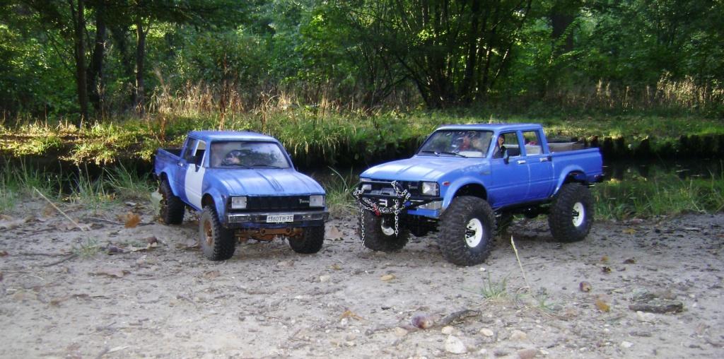 Les Toyota Hilux 2 & 4 portes RC4WD Trail Finder 2 RTR de Trankilou &Trankilette - Page 5 Dsc09543