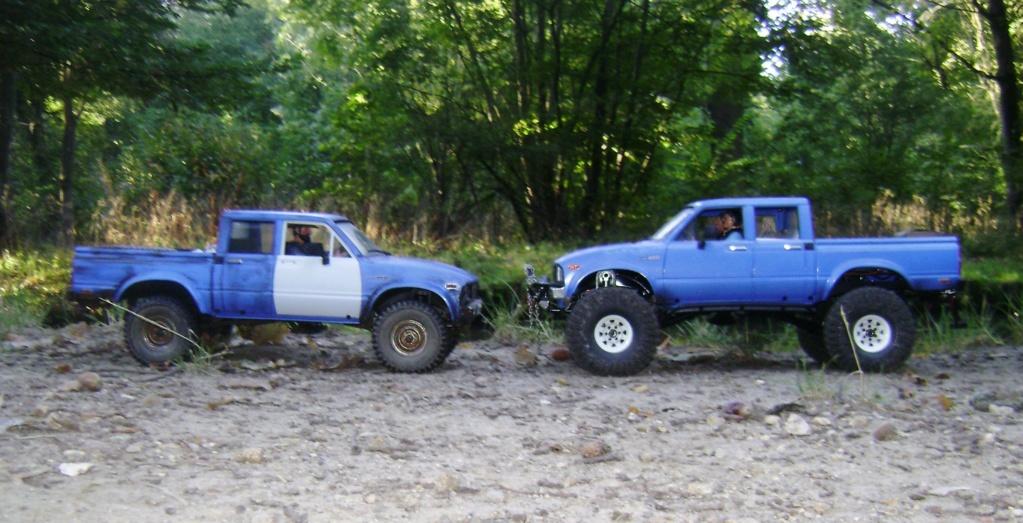 Les Toyota Hilux 2 & 4 portes RC4WD Trail Finder 2 RTR de Trankilou &Trankilette - Page 5 Dsc09545