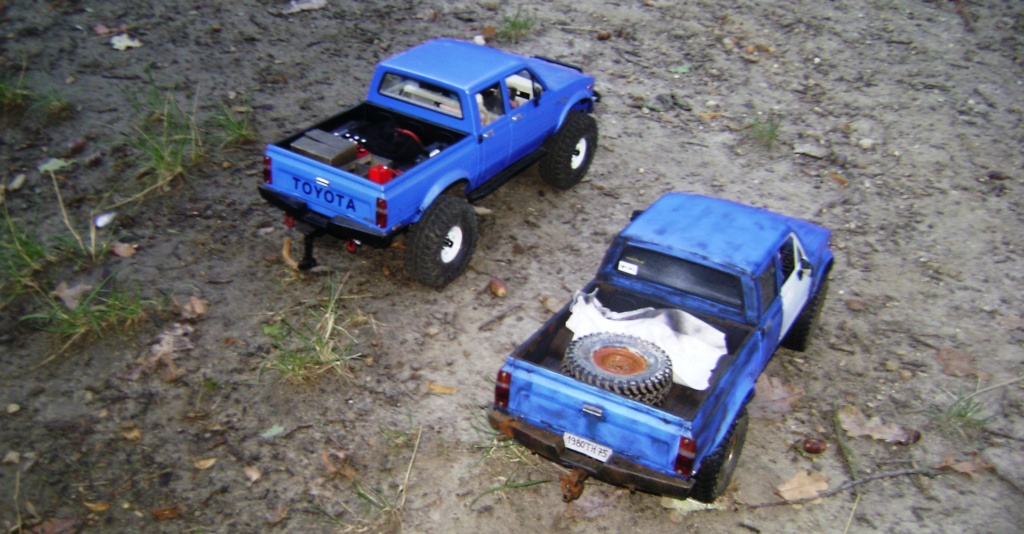 Les Toyota Hilux 2 & 4 portes RC4WD Trail Finder 2 RTR de Trankilou &Trankilette - Page 5 Dsc09547