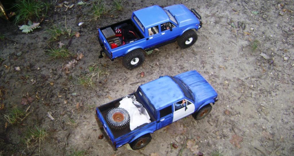 Les Toyota Hilux 2 & 4 portes RC4WD Trail Finder 2 RTR de Trankilou &Trankilette - Page 5 Dsc09548